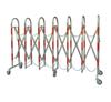 不锈钢双层伸缩安全围栏
