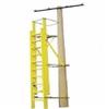 绝缘抱杆梯,平台式 绝缘人字梯