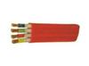 YGGB GGCB VFB YGCPB 0.6/1KV 硅橡胶护套耐高温、防腐、耐油扁形电力电缆