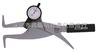 日本PEACOCK孔雀量表 LB-8 针盘式内测卡规